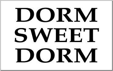 Doormat - Dorm Sweet Dorm.JPG