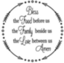 BLess the food.JPG
