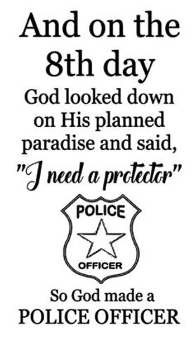 On the 8th day - police officer.JPG