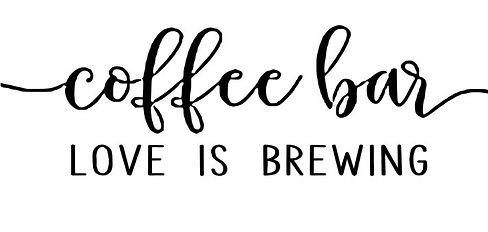 coffee bar - love is brewing.JPG