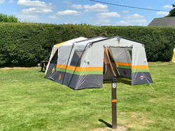 Tent with extension
