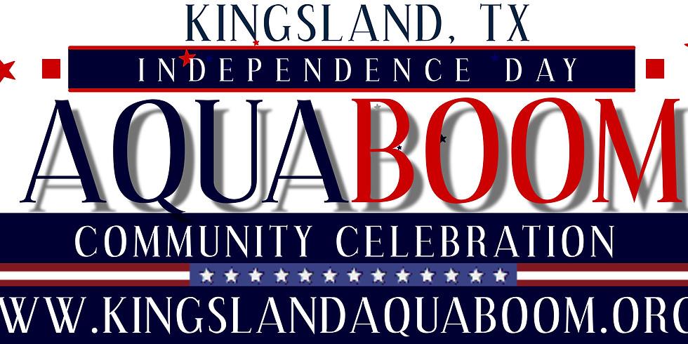 52nd Annual Kingsland AquaBoom Community Celebration