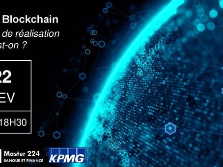 Conférence du M224 : De l'IA à la Blockchain à quel degré de réalisation en est-on 🌐