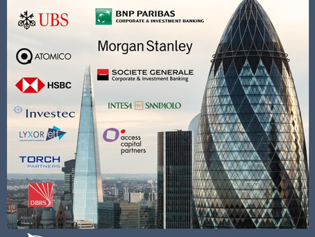 London Banking Trip