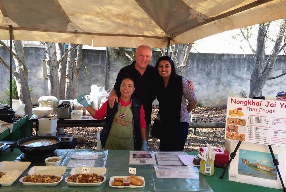 CAFB talks Thai food & Family markets