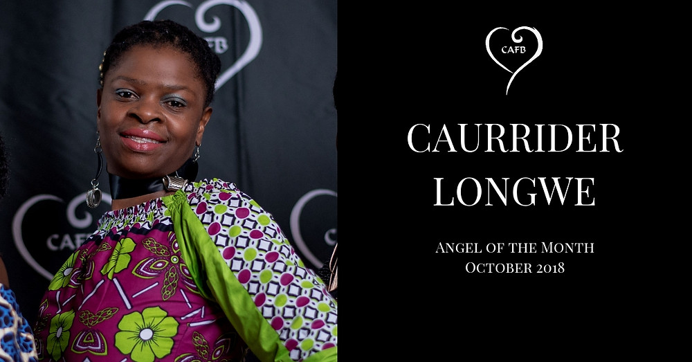 Creative Angels Fashion Benefit Angel of the Month: October 2018 - Caurrider Longwe