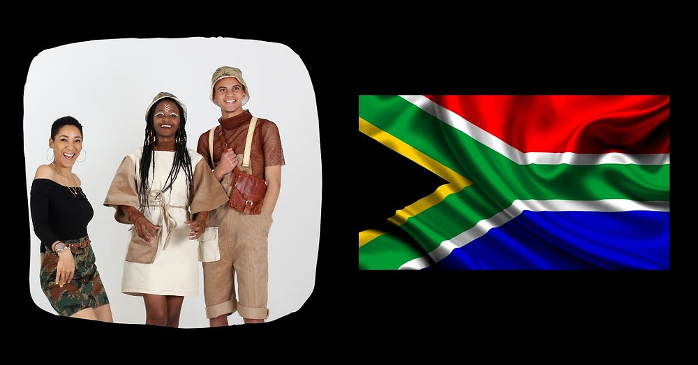 CAFB 2019 from the Creative Angels Fashion Benefit takes guests INSIDE the South African flag with another world first!