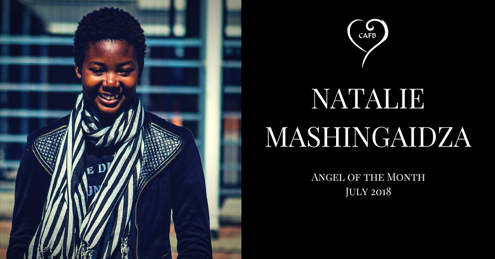 Natalie Mashingaidza voted Angel of the Month at Creative Angels Fashion Benefit