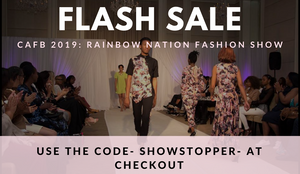 CAFB 2019 Rainbow Nation Fashion Show Discounted Tickets