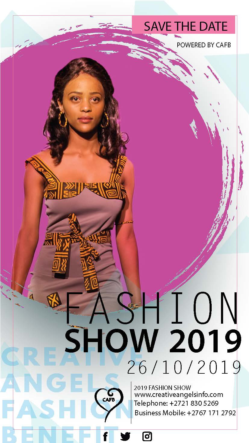 CAFB 2019: The Rainbow Nation (Fashion Show) to be held at The River Club, Observatory, Cape Town on 26 October 2019.