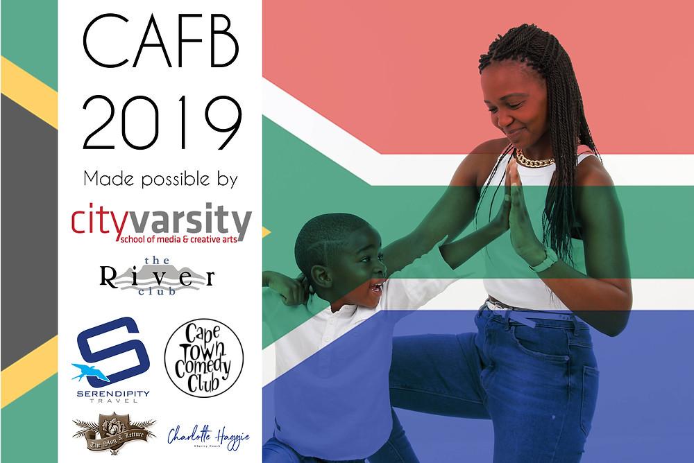 CAFB 2019 Sponsors, Entertainers Sibongiseni Wani Loyiso Luwi Turwana