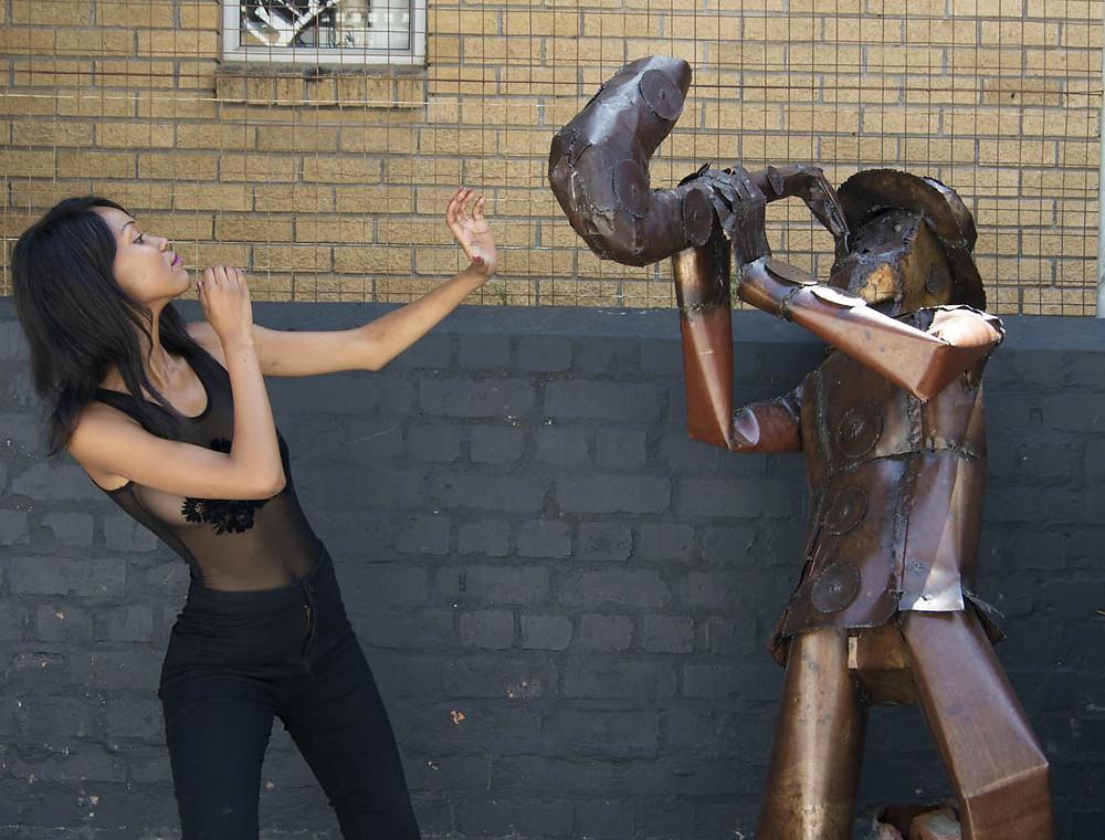 CAFB Model Training at City Varsity Cape Town: having fun!