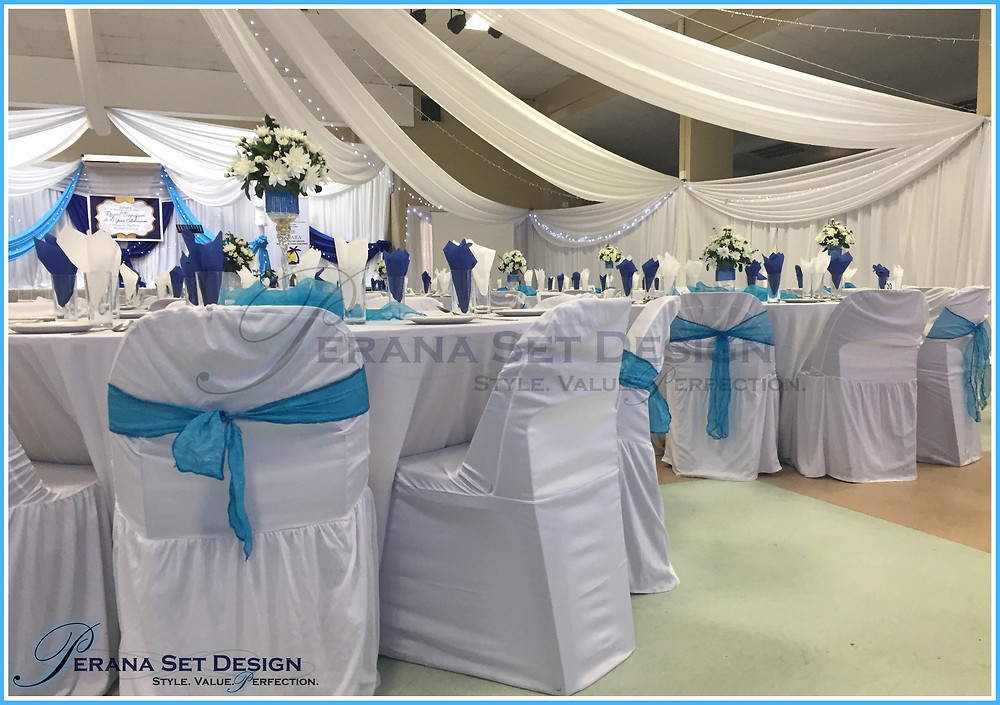 Perana Set Design sponsors draping and flowers for Phoenix Child Welfare