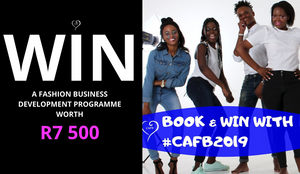 Book and win with CAFB 2019 Rainbow Nation Fashion Show