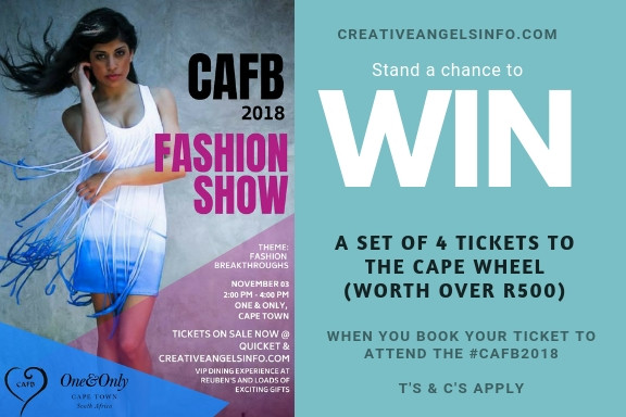 Win a set of 4 tickets for The Cape Wheel to treat your family this summer! #CAFB2018