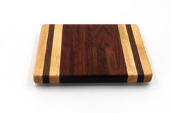 Maple Padauk and Bubinga Mini Cutting Board