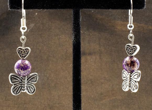 Butterfly Jasper Earrings