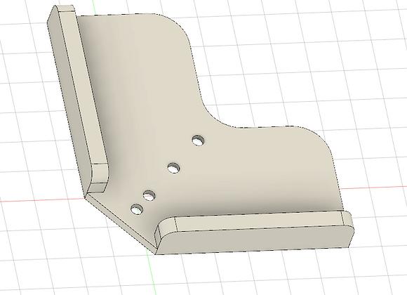 Cutting Board Corner Hole Jig