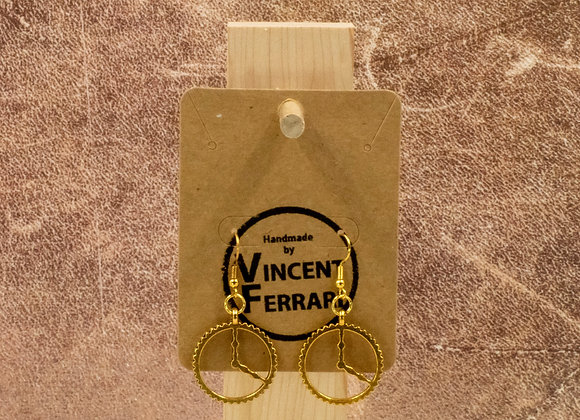 Clockgear Earrings