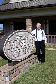 Museum sign w Dad.jpg