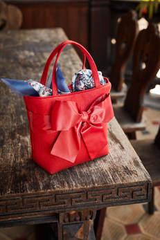 Trachtentasche Erdbeer