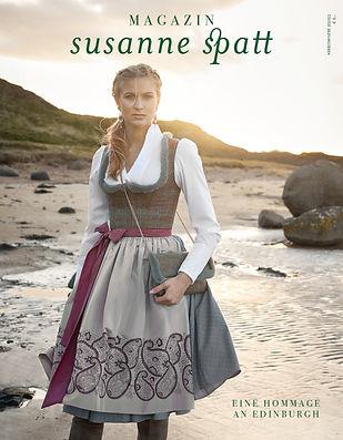Cover Edinburgh Schottland Susanne Spatt Magazin