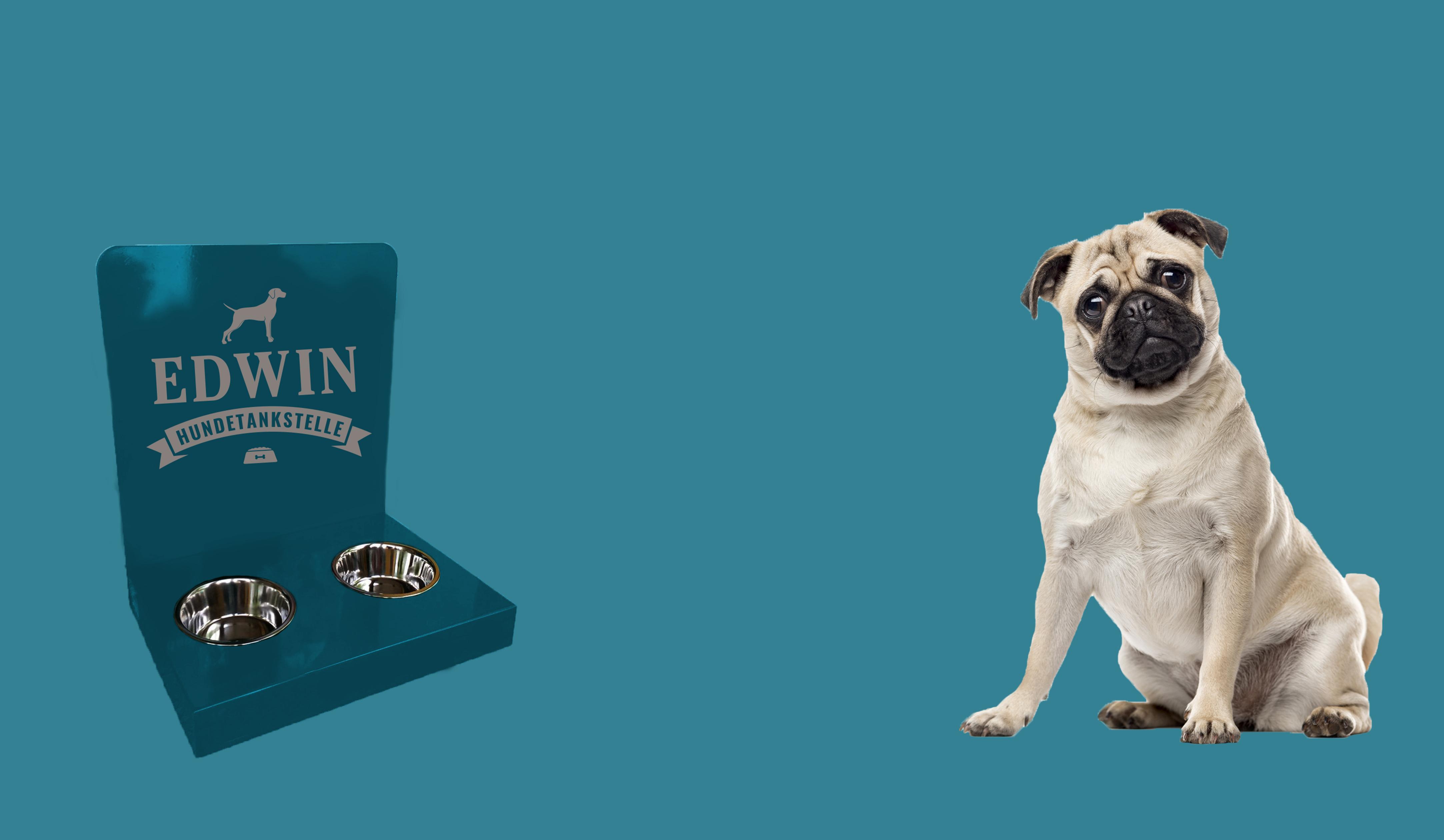 Hundetankstelle mit eigenem Design