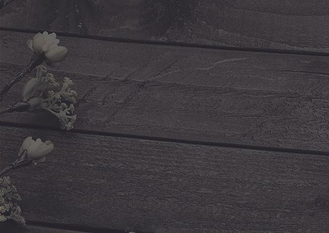 Wood floor with Flower
