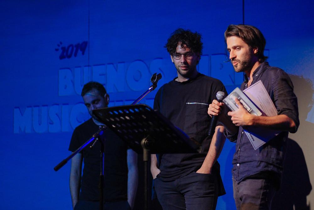 Los directores WACHO (Ed Braun y Justo Dell Aqua) ganan video del Año por Burn OCtober en los BAMV FEST AWARDS del Buenos Aires Music Video Festival