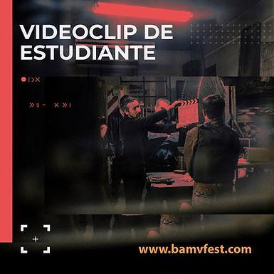 Nueva categoría: Videoclip de Estudiante