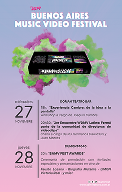 ¡Llega el BAMV FEST 2019 este 27 & 28 de noviembre!
