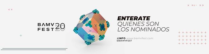 NOMINADOS 2020 – BUENOS AIRES MUSIC VIDEO FESTIVAL
