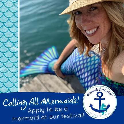 Mermaids and Mariners on the St. Clair Calling All Mermaids