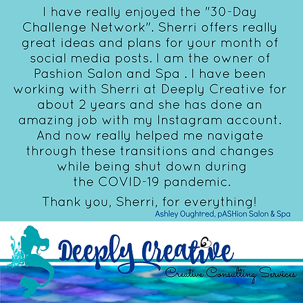 Deeply Creative Testimonial Ashley O 2 c