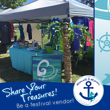 Mermaids and Mariners on the St. Clair Vendors Share Your Treasures