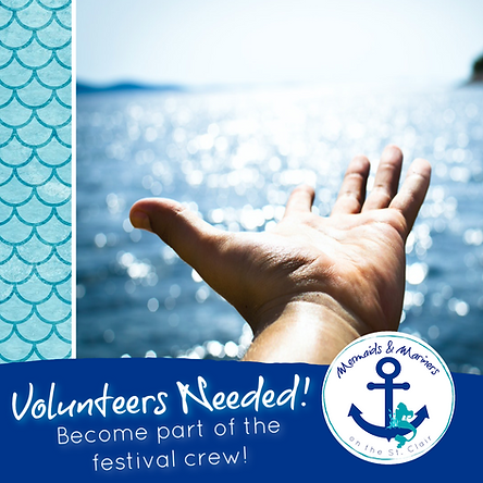 Mermaids and Mariners on the St. Clair Volunteers Needed