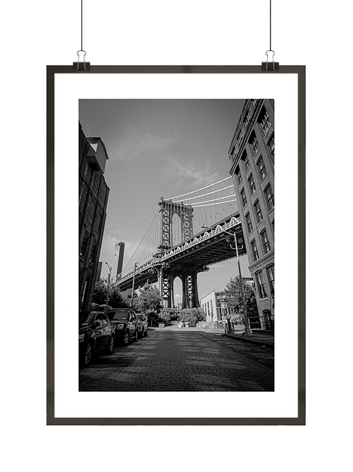 Widok na Manhattan Bridge