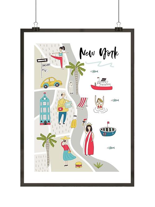 Kierunek Nowy Jork