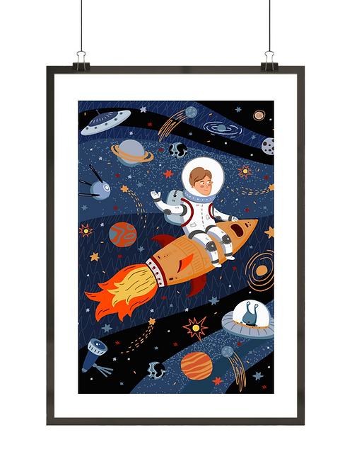 Mały astronauta