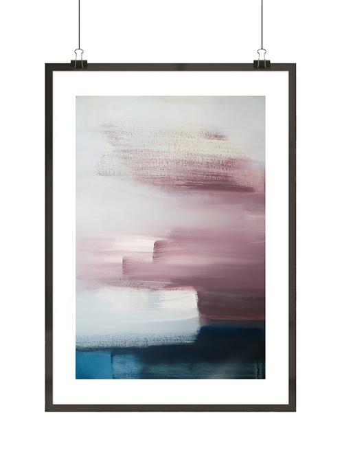 Purpurowe abstrakcje