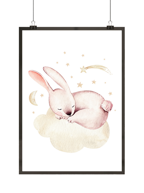 Śpiący króliczek