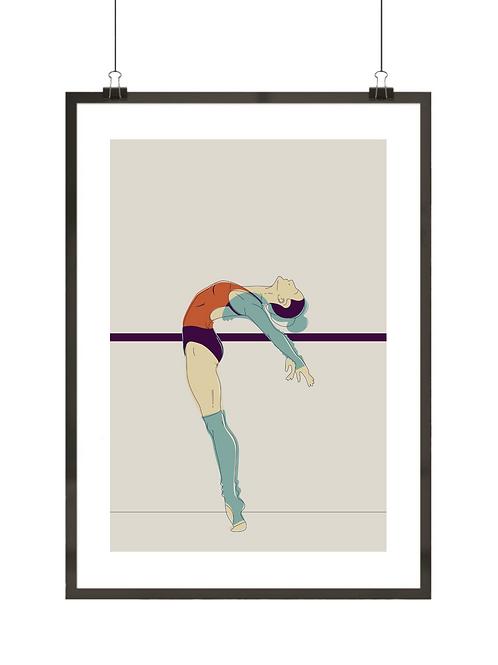 Retro baletnica nr 2