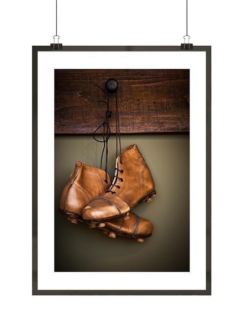 Stare buty piłkarskie
