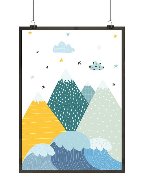Góry i fale