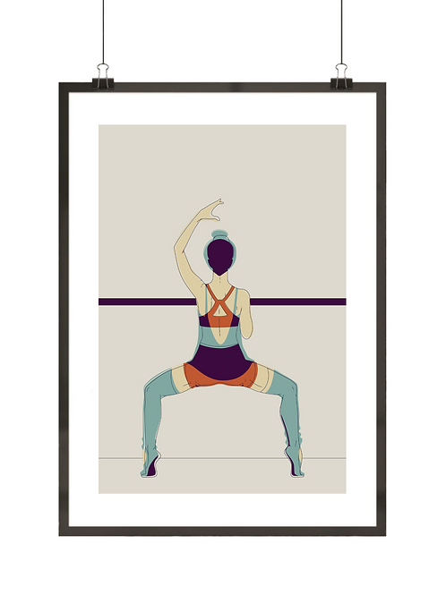 Retro baletnica nr 3