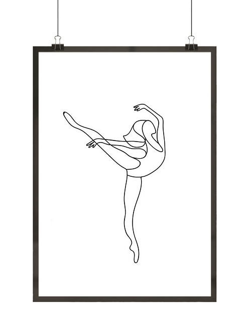 Baletnica i kreska