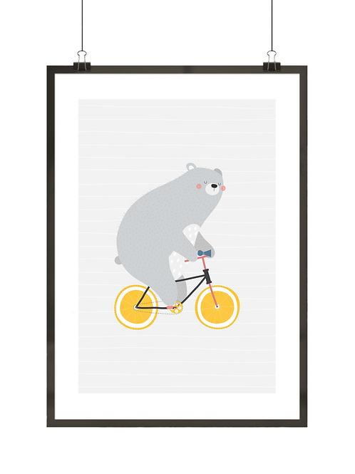 Miś i rower
