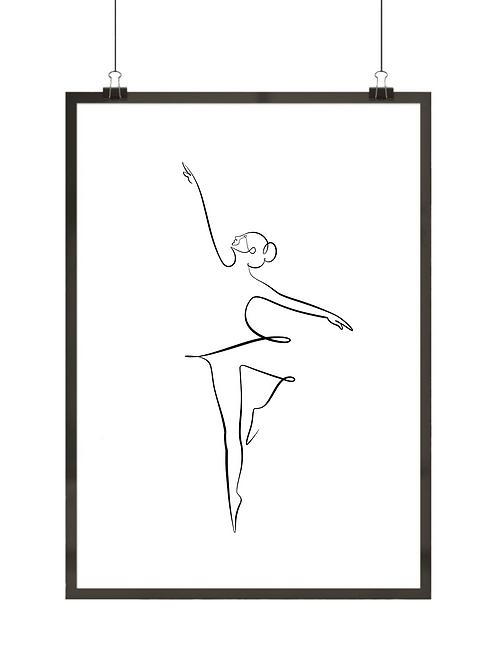Subtelna baletnica