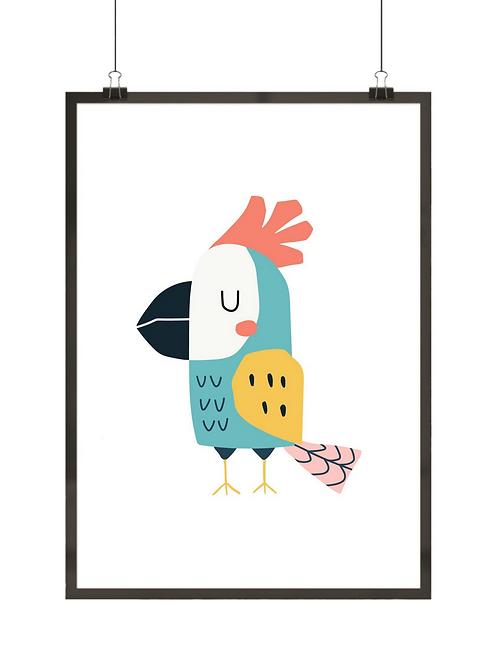 Barwna papuga