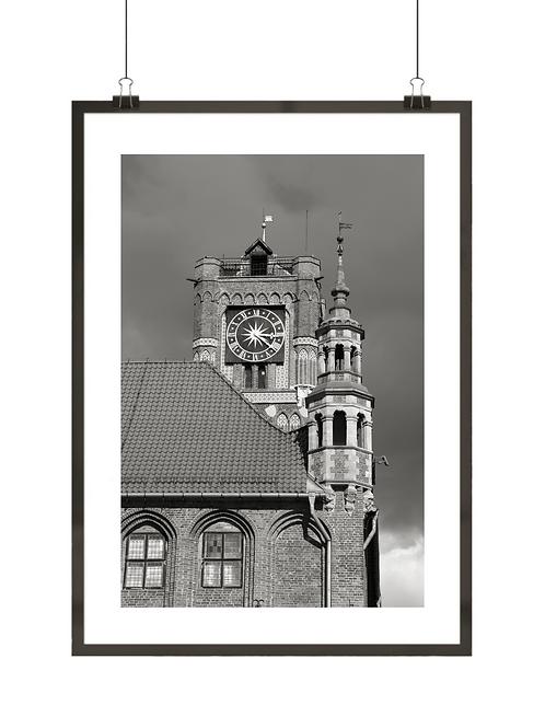 Czarno-biały Toruń